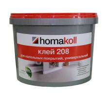 Клей для напольных покрытий, универсальный Homakoll 208, 1,3кг