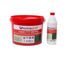 2К ПУ клей для искусственной травы 777 Homaprof, 10кг