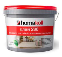 Клей — фиксатор для гибких напольных покрытий Homakoll 286, 10кг