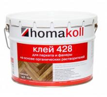 Клей для паркета и фанеры на основе органических растворителей Homakol 428, 10кг
